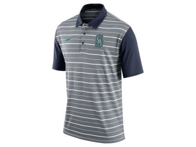 Seattle Mariners Nike MLB Men's Dri-Fit Polo 1.6