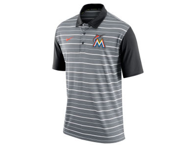 Miami Marlins Nike MLB Men's Dri-Fit Polo 1.6