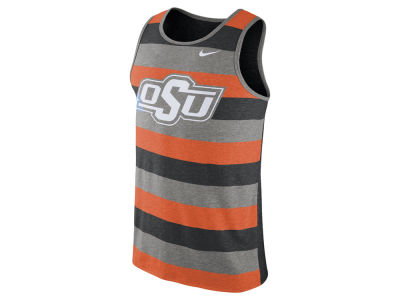 Oklahoma State Cowboys Nike NCAA Men's Stadium Team First Striped Tank