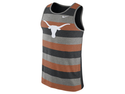 Texas Longhorns Nike NCAA Men's Stadium Team First Striped Tank