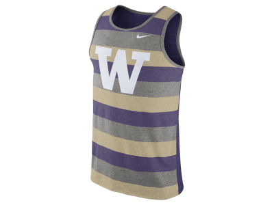 Washington Huskies Nike NCAA Men's Stadium Team First Striped Tank