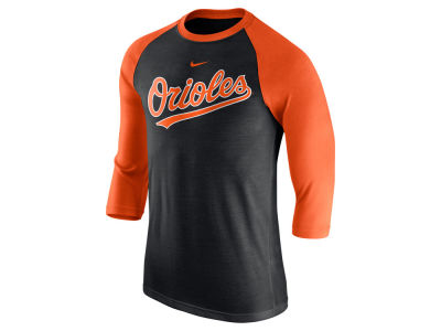 Baltimore Orioles Nike MLB Men's Wordmark Raglan T-Shirt