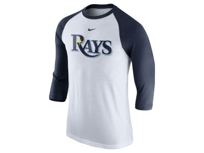 Tampa Bay Rays Nike MLB Men's Wordmark Raglan T-Shirt