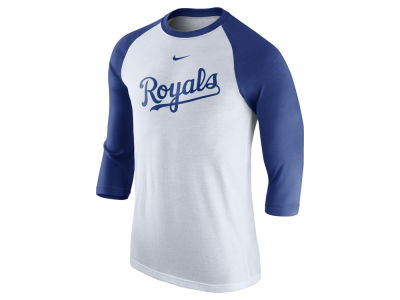Kansas City Royals Nike MLB Men's Wordmark Raglan T-Shirt