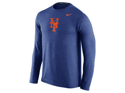 New York Mets Nike MLB Men's Dri-Fit Touch Long Sleeve T-Shirt