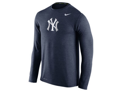 New York Yankees Nike MLB Men's Dri-Fit Touch Long Sleeve T-Shirt