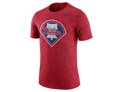 Philadelphia Phillies Nike MLB Men's Marled 1.6 T-Shirt