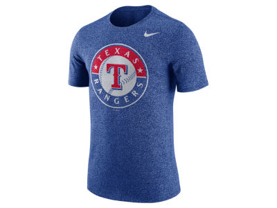 Texas Rangers Nike MLB Men's Marled 1.6 T-Shirt