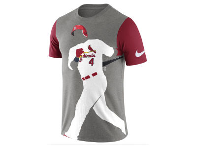 St. Louis Cardinals Nike MLB Men's Player Silhouette T-Shirt