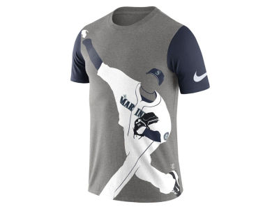 Seattle Mariners Nike MLB Men's Player Silhouette T-Shirt