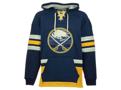 Buffalo Sabres Reebok NHL Men's Lace Up Pullover Hoodie