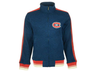 Montreal Canadiens Reebok NHL Men's CCM Full Zip Jacket