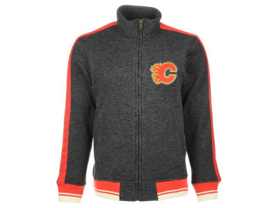 Calgary Flames Reebok NHL Men's CCM Full Zip Jacket
