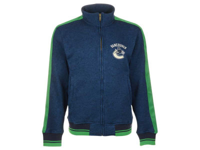 Vancouver Canucks Reebok NHL Men's CCM Full Zip Jacket