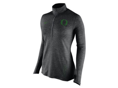 Oregon Ducks Nike NCAA Women's Stadium Element 1/4 Zip Pullover Shirt