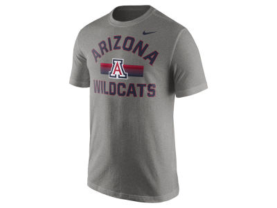 Arizona Wildcats Nike NCAA Men's Stadium Team First Cotton Stripe T-Shirt