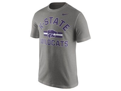 Kansas State Wildcats Nike NCAA Men's Stadium Team First Cotton Stripe T-Shirt