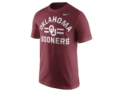 Oklahoma Sooners Nike NCAA Men's Stadium Team First Cotton Stripe T-Shirt
