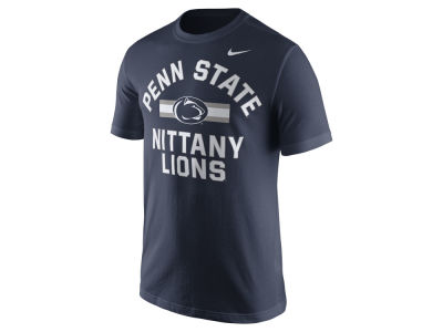 Penn State Nittany Lions Nike NCAA Men's Stadium Team First Cotton Stripe T-Shirt