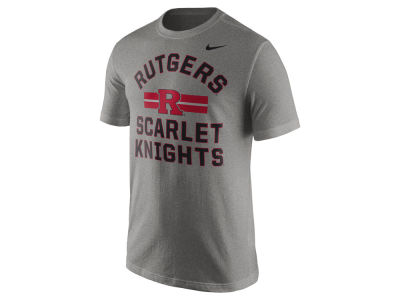 Rutgers Scarlet Knights Nike NCAA Men's Stadium Team First Cotton Stripe T-Shirt