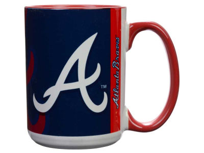 Atlanta Braves 15oz Super Fan Inner Color Mug