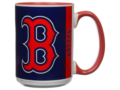 Boston Red Sox 15oz Super Fan Inner Color Mug