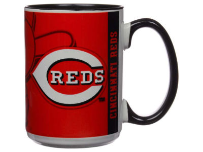 Cincinnati Reds 15oz Super Fan Inner Color Mug