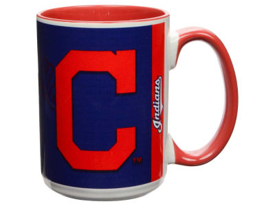 Cleveland Indians 15oz Super Fan Inner Color Mug
