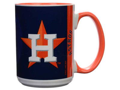 Houston Astros 15oz Super Fan Inner Color Mug
