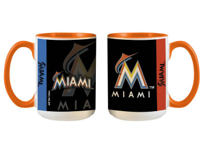Miami Marlins 15oz Super Fan Inner Color Mug