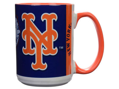 New York Mets 15oz Super Fan Inner Color Mug