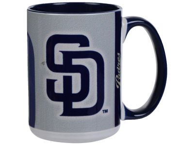 San Diego Padres Memory Company 15oz Super Fan Inner Color Mug
