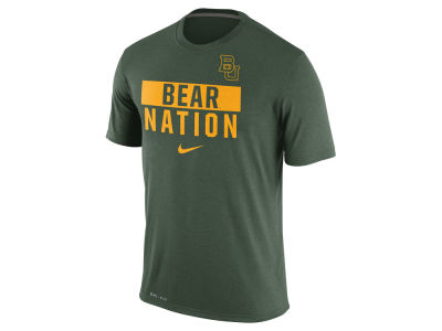 Baylor Bears Nike NCAA Men's Legend Local Verbiage Crew T-Shirt