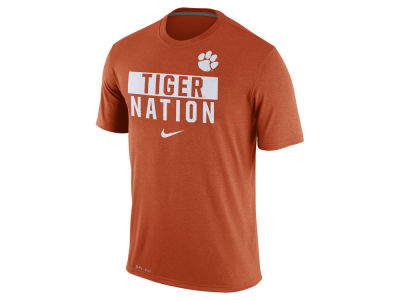Clemson Tigers Nike NCAA Men's Legend Local Verbiage Crew T-Shirt