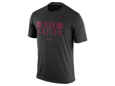 Florida State Seminoles Nike NCAA Men's Legend Local Verbiage Crew T-Shirt