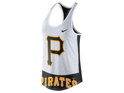 Pittsburgh Pirates Nike MLB Women's Tri Logo Tank