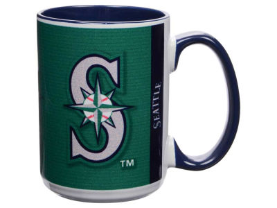Seattle Mariners 15oz Super Fan Inner Color Mug