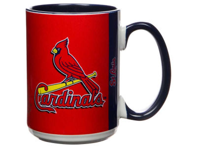 St. Louis Cardinals 15oz Super Fan Inner Color Mug
