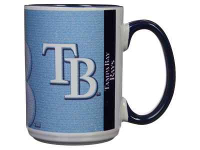 Tampa Bay Rays 15oz Super Fan Inner Color Mug