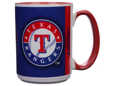 Texas Rangers 15oz Super Fan Inner Color Mug