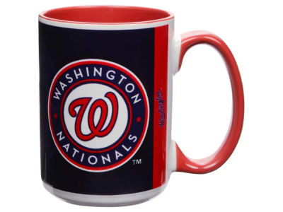 Washington Nationals 15oz Super Fan Inner Color Mug