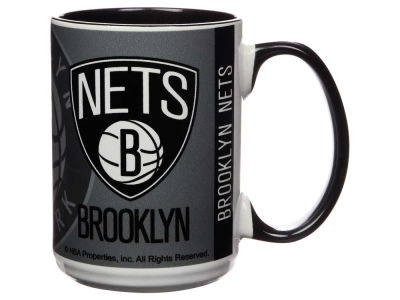 Brooklyn Nets 15oz Super Fan Inner Color Mug