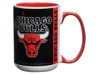 Chicago Bulls 15oz Super Fan Inner Color Mug