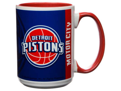 Detroit Pistons 15oz Super Fan Inner Color Mug