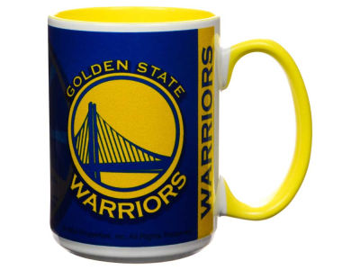 Golden State Warriors 15oz Super Fan Inner Color Mug