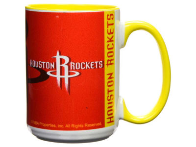Houston Rockets 15oz Super Fan Inner Color Mug