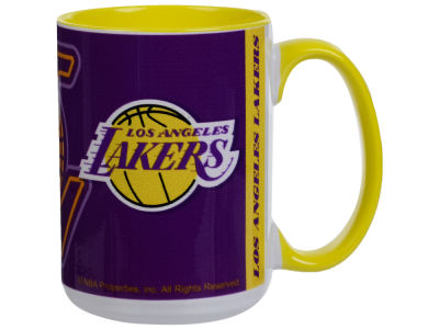 Los Angeles Lakers 15oz Super Fan Inner Color Mug
