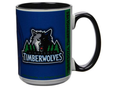 Minnesota Timberwolves 15oz Super Fan Inner Color Mug