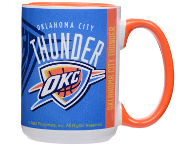 Oklahoma City Thunder 15oz Super Fan Inner Color Mug