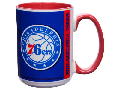 Philadelphia 76ers 15oz Super Fan Inner Color Mug